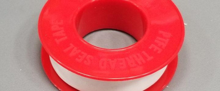 Plumbing: Teflon Tape